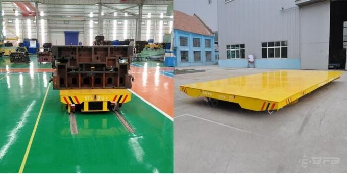 Large Table Electric Remote Control Material Handling Trailers