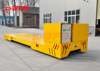 1-500T Load Capacity Trackless Transfer Cart For Plant 12 Months Warranty