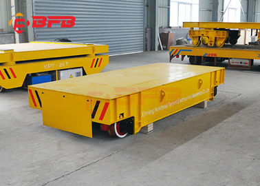 China Unlimited Distance Steel Rail Transfer Cart , Research Battery Powered Heavy Duty Cart supplier