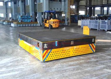 Flexible Heavy Duty Die Carts , Unlimited Automated Turning Electric Transfer Cart