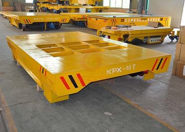 China SKF Bearing Battery Powered Cart , Cast Steel Wheel Propelled Die Transfer Cart supplier