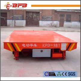 Injection Mould Rail Transfer Cart Large Load Capacity Electric 12 Months Warranty