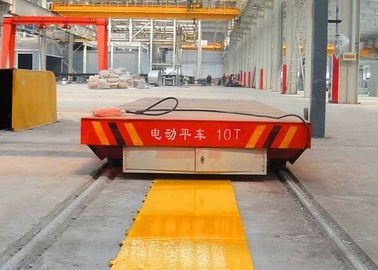 High Performance Busbar Powered Transfer Cart 0 - 20m / Min Running Speed