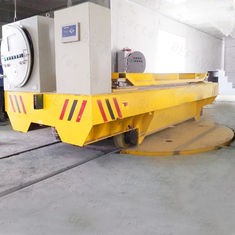 Factory / Warehouse Handling Equipments , On Rails Automated Electric Turntable
