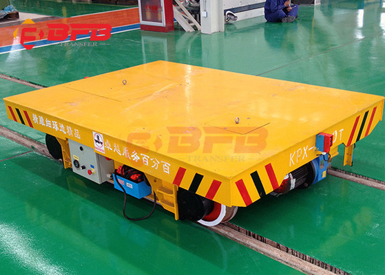China Industrial Motorized Platform Cart Self Propelled Coil Transfer Cart supplier