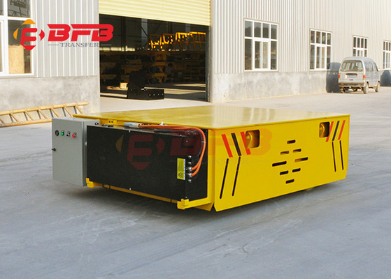 Battery Operated Car Mover Automatic Transfer Carriage No Rail Transportation Equipment