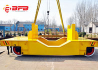 China Q235 Four Wheels Ladle Transfer Cart With SKF Bearing Telecontrol Operate factory