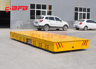 China Bay To Bay Transport Battery Powered Cart , Motorized Platform Cart For Container factory