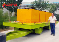 China 1-500t customized manual industrial cargo transport forklift towing trolley on rails or concrete ground company