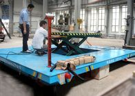 China Battery Powered Ladle Transfer Cart Box Beam Structure With SKF Bearing factory