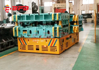 China Indoor / Outdoor Trackless Transfer Cart Bogie Unlimited Running Distance factory