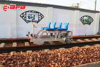 China Rail Guided Die Transfer Cart Railway Track Inspection Repairment Maintenance Vehicle factory