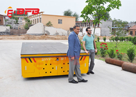 China Material Handling Trolley 100t Electric Transfer Cart Company Shipyard Equipment company