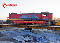 China Custom Electric Industrial Transfer Car Free Rotating Railroad Train Turntable Design factory