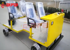 China Lithium - Ion Battery Transfer Cart Automatic Rail Detection Vehicle company