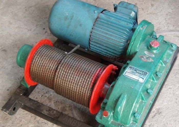 Towed Electric Wire Rope Winch   Construction Pulling