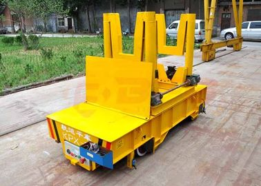 Steel mill ladle transfer car