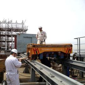 Shipyard steel part handling cart