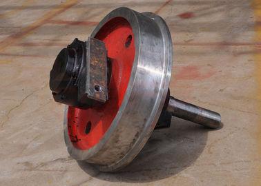 Steel cast/forged wheel crane wheel
