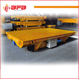 Cable drum power electric transfer bogie
