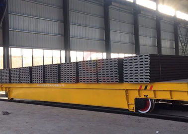60t  Rail motorized transfer trolley for industrial equipment handling China Manufacturer