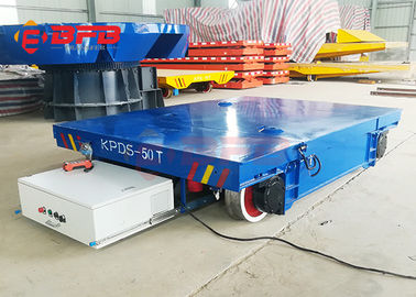 Low Voltage Electricity Operated Die Transfer Flat Heavy Load Cart Rail Guided Cart
