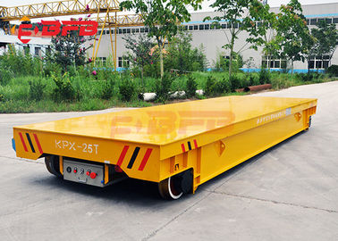 China Anti Heat Battery Transfer Cart Cylinder Transfer Bogie 1 - 300 Load Capacity Move On Rails factory
