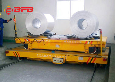 10 ton rail traverser battery operated coil cart for steel industry ferry