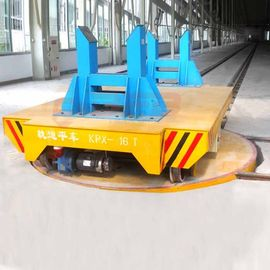20T Rail Transfer Car Material Handling Solutions On Turnplate For Automation Industry