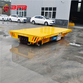 China Remote Control Pallet Transfer Carts , Industrial 1-500T Coil Transfer Cart factory