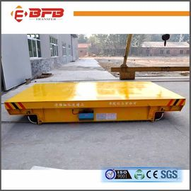 China High Running Speed Material Transfer Carts , Insulated Rail Transfer Trolley Conductor Railway Cart factory