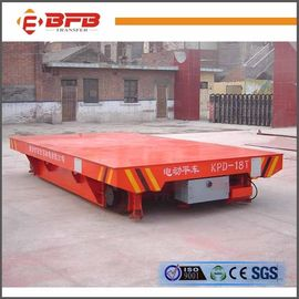 Four Wheels Open Die Transfer Cart , Industrial Material Carts ISO / CE Certificate