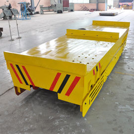 China High Performance Motorized Industrial Carts , 50T Load Material Handling Carts factory