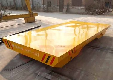 10T Non - Power Industrial Transfer Car , Wooden Box Material Moving Carts