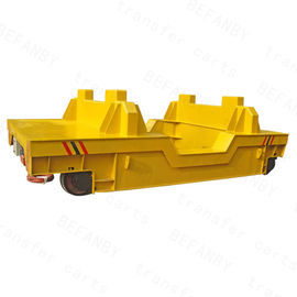 China Scrap On Rails Electric Transfer Cart Short Distance Customized Color / Size factory