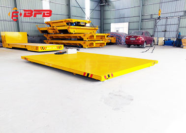 China Petrochemical Heavy Duty Die Carts , 1 - 300T Load Electric Powered Cart factory