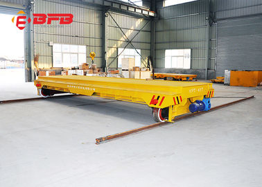 China Interbay Flat Electric Transfer Cart High Performance With Catenary 1 Year Warranty factory