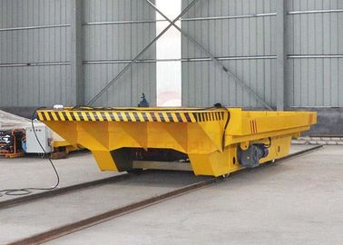 China VFD Device Towed Electric Transfer Cart 0 - 20m / Min Running Speed Easy To Use factory