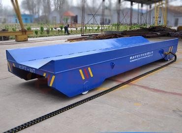 Heat Proof Industrial Electric Carts , AC Rail Transfer Cart Dragged Cable Transport Trailer
