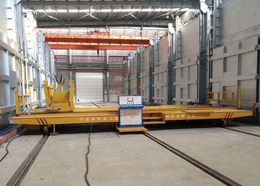 PLC Control Material Handling Trolley , Mobile Material Moving Equipment