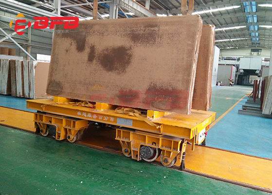 China 10t 15t 20t electric industrial track road battery transfer carriage manufacturer in China factory