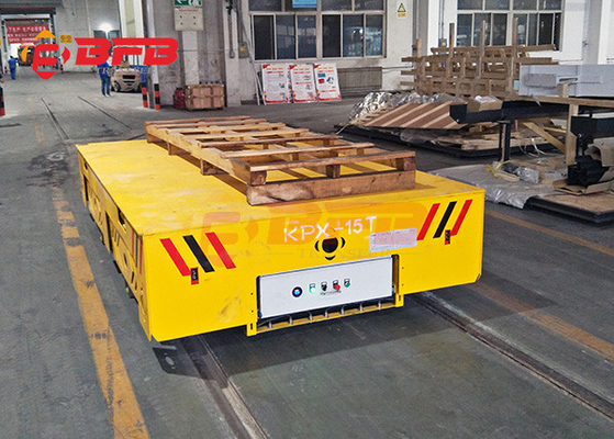 China China customized yellow motorized cart moving on rails,BEFANBY electric battery powered industry vehicles factory