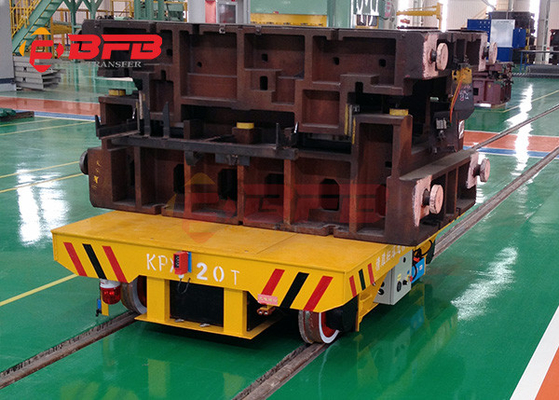 China Industrial project application workshop warehouse battery transfer cart rail for mould factory