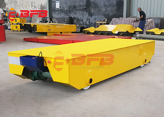 Electric Rail Freight Transport Battery Transfer Cart Heavy Duty Aluminum Product