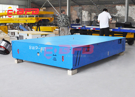 Exported 1-300T Heat Resistant Automatic Trackless Transfer Cart For Material Handling