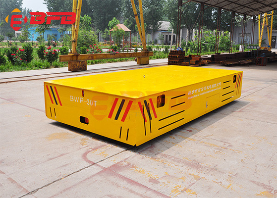 Large Mold Trackless Carriage Motorized Transfer Cart
