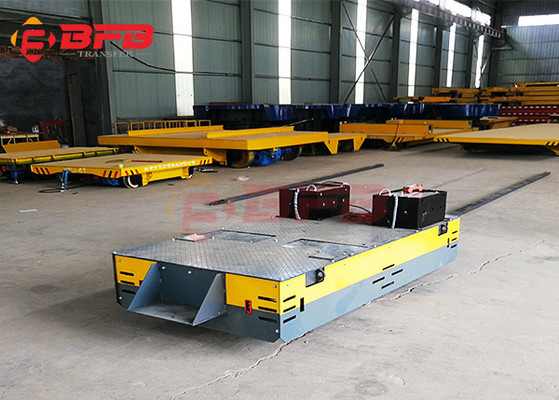 Q235 Anti Explosion 10 Ton Steerable Transfer Cart