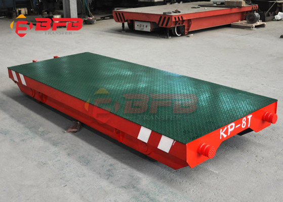 Q235 manual 1000t Tow Dolly Material Transfer Carts