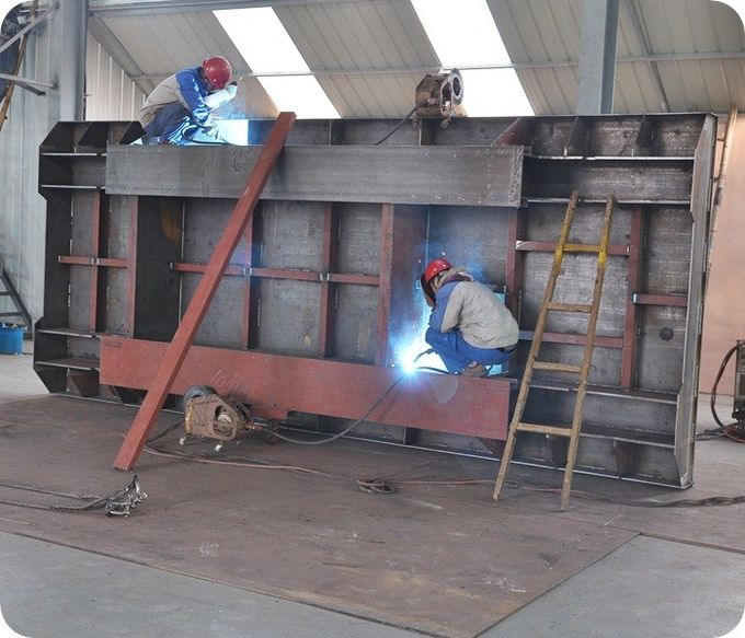 Foundry Plant Die Mold Transfer Cart Steel Material With 4 Wheel / Interbay