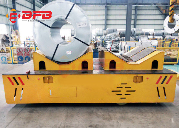 Steerable Trackless Transfer Cart V Frame For Paper Industry Q235 Material